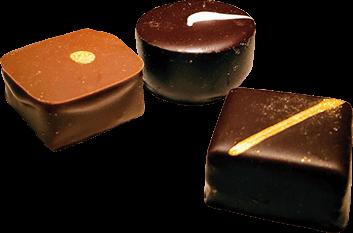 3 carrés de chocolat